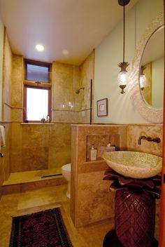 decorative bathroom soap dispensers - home interior Tropical Bathroom, Beach Theme Bathroom, Budget Bathroom, Bathroom Layout, Master Bathroom, Bathroom Ideas, Bathroom Designs, Tropical Decor, Basement Bathroom