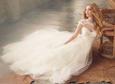不同风格的新娘造型