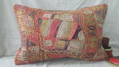 Check out this item in my Etsy shop https://www.etsy.com/listing/508591669/kilim-pillow-1624inches-lumbar-pillow