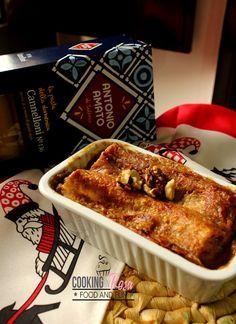Calore: Cannelloni porcini e noci | Cooking in Rosa
