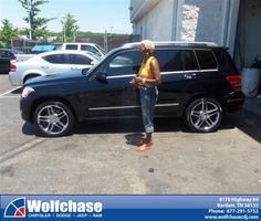 #HappyAnniversary to Jacquelyn Wright on your 2012 #Mercedes Truck #Glk-Class from Luster Adams at Wolfchase Chrysler Jeep Dodge!