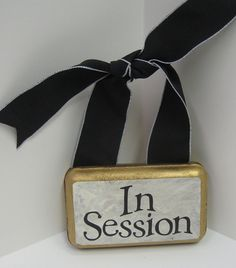 Small 2 Sided Plaque WelcomeIn Session by SoulfulSayings on Etsy, $18.00