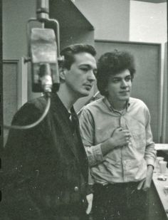Charlie Musselwhite and Mike Bloomfield, New York, 1964