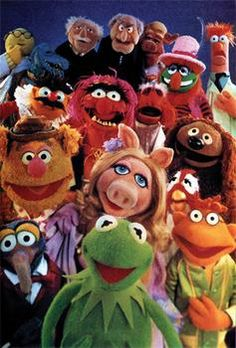 1970'S TV Shows - The Muppets.  This was a great show!  Miss it.