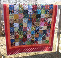 directions for I spy quilt.  cute