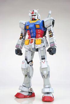 GUNDAM GUY: MG 1/100 RX-78-2 Gundam Ver. 3.0 - Customized Build