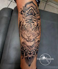 #tiger #tigertattoo #mandala #mandalatattoo #tigertattoo #Tattoo #osnabrücktattoo  www.tattoosbykris.de