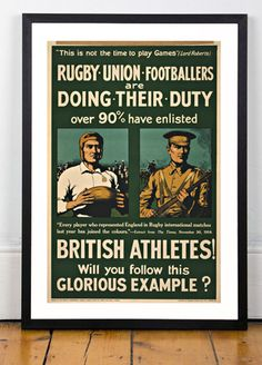 Rugby Union Footballers, 1915