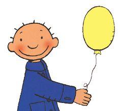 Jules gele ballon