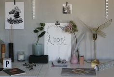 have a new month déco for office - good for creating