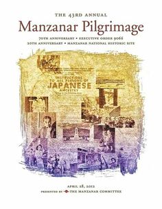 Please Support The Manzanar Committee! Advertise In The Program For The 44th Annual Manzanar Pilgrimage