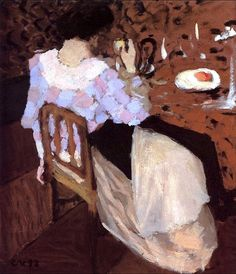 'Breakfast' ~ Edouard Vuillard - circa 1893