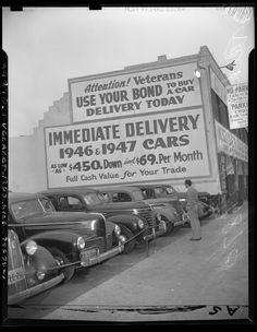1947 - Kelly Kar Co., Figueroa between 12th and Pico (Kelly Kar Co., same people who started the Kelly Blue Book)
