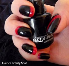 Black and red GELeration for Halloween...