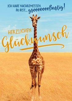 Grooooooooßartig! | Glückwünsche | Echte Postkarten online versenden | Gutsch Verlag