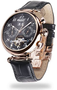 Ingersoll Men's Watch, Waldorf II – IN1319RBK: Amazon.co.uk: Watches