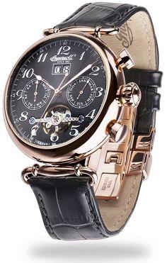Ingersoll Men's Watch, Waldorf II – IN1319RBK: Amazon.co.uk: Watches
