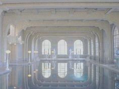 White Swimming Pool