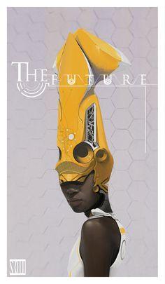 ArtStation - The Future 2, mo xuan zhang