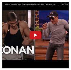 El actor Van Damme demuestra a sus 54 años que es capaz de recrear honorablemente la escena de la película KICKBOXER, estos pasos de baile que se han vuelto virales en las redes sociales utilizado ...