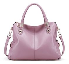 New Trending Make Up Bags: BIG SALE-AINIMOER Womens Genuine Leather Vintage Tote Shoulder Bag Top-handle Crossbody Handbags Large Capacity Ladies Purse (Light Purple). BIG SALE-AINIMOER Womens Genuine Leather Vintage Tote Shoulder Bag Top-handle Crossbody Handbags Large Capacity Ladies' Purse (Light Purple)   Special Offer: $78.99      133 Reviews Welcome to AINIMOER Amazon store, our bag's quality and our service are industry leaders. It can...