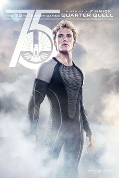 Catch Your Breath: The New 'Hunger Games: Catching Fire' Posters Are Here!: Sam Claflin as Finnick Odair