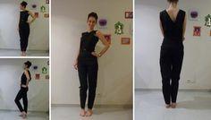 Rendez-vous sur le blog pour un nouveau tutoriel : je vous apprends à coudre une combi-pantalon adaptée à vos mesures ! Le haut a la forme d'un cache cœur et il y a une petite ouverture au niveau du ventre :)