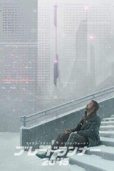 Tears in the snow. Blade Runner Poster, Blade Runner Art, Blade Runner 2049, Blade Runner Wallpaper, Ryan Gosling Blade Runner, Denis Villeneuve, Arte Cyberpunk, Sci Fi Movies, Indie Movies
