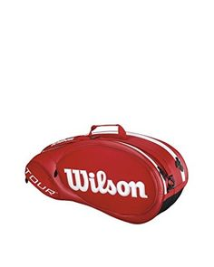 Wilson Borsa Tennis Tour Molded 2.0 6Pk Bag Rd  [Rosso]