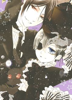 Sebastian and Ciel - Black Butler