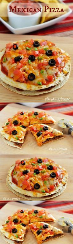 Mexican Pizza! Just like the one at Taco Bell but better and homemade!