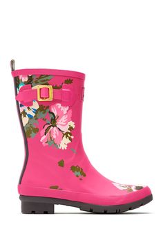 Mollywelly Rain Boot by Joules on @HauteLook Joules Boots, Wellies Rain Boots, Joules Uk, Snow Boots, Slip On Boots, Pull On Boots, Big Calves, Floral Shoes, Wellington Boot