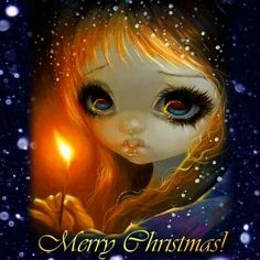 Merry Christmas by Jasmine Becket-Griffith