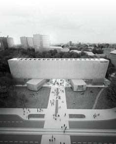Penda Proposes a Transformable Design for the New Bauhaus Museum