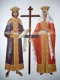 Αγ.Κωνσταντινος Ο Ισαποστολος (272 - 337), Αγ.Ελενη Η Ισαποστολος (247 - 327)___may 21