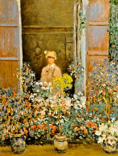 Claude Monet - Camille at the Windows, Argenteuil, 1873