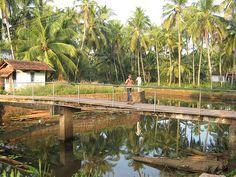 File:Uruvanchal, wooden bridge.jpg