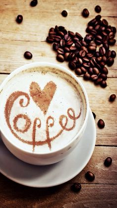 Coffee wallpaper... Cute backgrounds Pinterest
