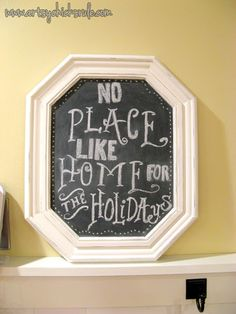 DIY Chalkboards From Old Pictures...Easy! - Artsy Chicks Rule