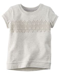 Toddler Girl Lace Top | Carters.com