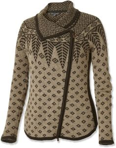 Royal Robbins Women's Autumn Pine Zip Cardigan Sweater