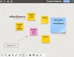 Disfruta de una pizarra digital online con RealtimeBoard | Nuevas tecnologías aplicadas a la educación | Educa con TIC
