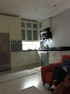 Mutfagimda yasiyorum Salon mutfak bir olunca