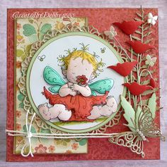 Created by Debby for the Simon Says Stamp Pin It Challenge. July 2013