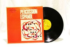 Ping Pong Percussion percussion Espanol The Heart of Spain LP 33 Vinyl Spin Rama #CentralSouthAmerica