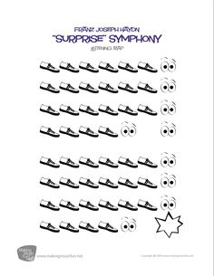 Surprise Symphony (Haydn) – Listening Map and Lesson (Digital Print) Surprise Symphony Music Lessons For Kids, Music Lesson Plans, Singing Lessons, Music For Kids, Singing Tips, Music Worksheets, Printable Worksheets, Free Printable, General Music Classroom