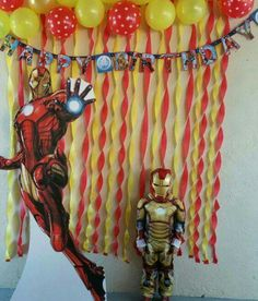 Discover recipes, home ideas, style inspiration and other ideas to try. Avengers Birthday, Superhero Birthday Party, 6th Birthday Parties, Iron Man Theme, Iron Man Party, Iron Man Birthday, Boy Birthday, Birthday Ideas, Party Ideas