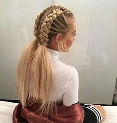 40 Pretty hairstyle you should try - Dutch braids