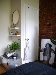 Joshua's Grayscale Living & Gathering Space