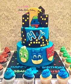 Pj masks cake - Cake by BetterBatterBakes
